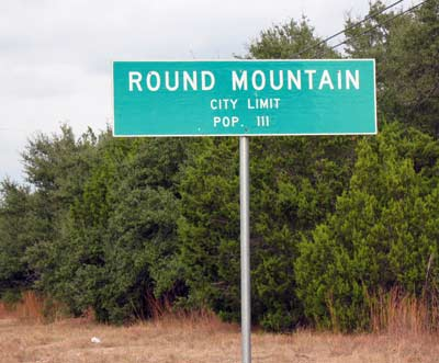 Round Mountain population 111